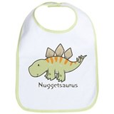 Dinosaur Cotton Bibs