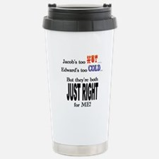 Jacob and Edward for ME Travel Mug