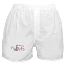 Squirrel Nut House! Boxer Shorts