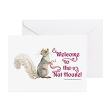 Squirrel Nut House! Greeting Cards (Pk of 10)