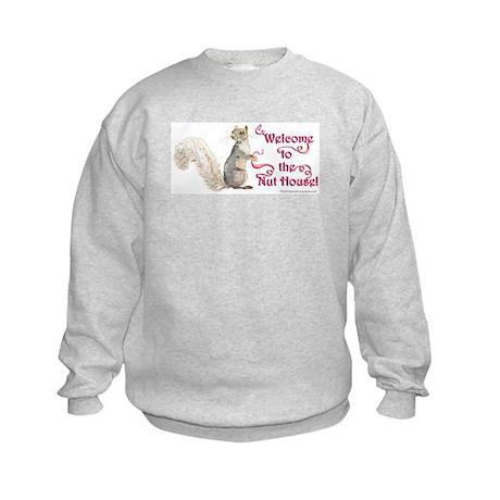 Squirrel Nut House Kids Sweatshirt