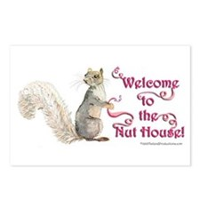 Squirrel Nut House! Postcards (Package of 8)