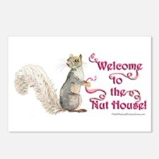 Squirrel Nut House Postcards (Package of 8)