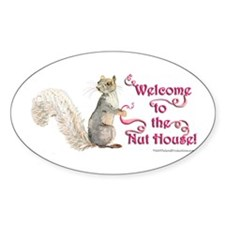 Squirrel Nut House! Decal