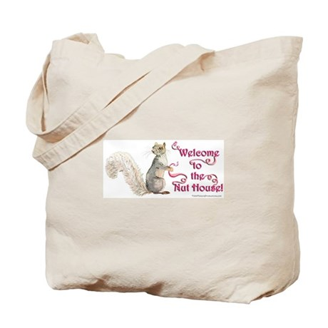 Squirrel Nut House! Tote Bag