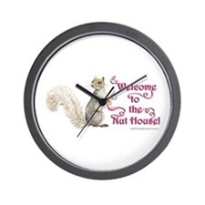 Squirrel Nut House! Wall Clock