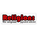 Religion Bumper Sticker (50 pk)