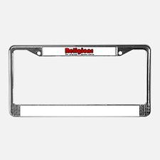 Religion License Plate Frame