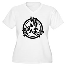 Tribal Celtic Fish T-Shirt