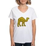 Camel Toe Women's V-Neck T-Shirt