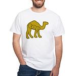 Camel Toe White T-Shirt