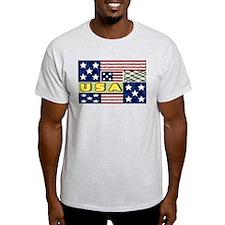 U.S.A. spring quilt T-Shirt