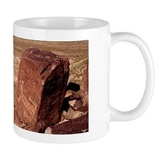 "Ceramic Mug - Petroglyph ""Animal Rock"""