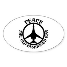 PTOFW B-1s Oval Sticker (10 pk)