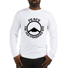 Peace with Stealth Long Sleeve T-Shirt
