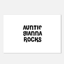 AUNTIE GIANNA ROCKS Postcards (Package of 8)