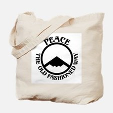 Peace with Stealth Tote Bag