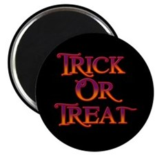 """Trick or Treat 2.25"""" Magnet (10 pack)"""