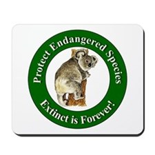Protect Endangered Species Mousepad