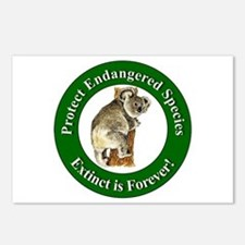 Protect Endangered Species Postcards (Package of 8