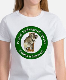 Protect Endangered Species (Front) Women's T-Shirt