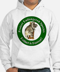 Protect Endangered Species (Front) Hoodie