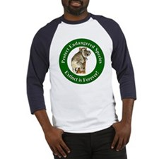 Protect Endangered Species (Front) Baseball Jersey