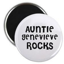 AUNTIE GENEVIEVE ROCKS Magnet