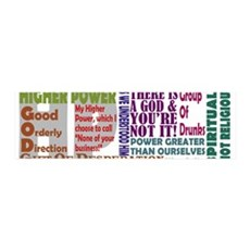 12- Step Higher Power Wall Decal