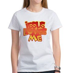 Jesus Loves Me Christian Tee