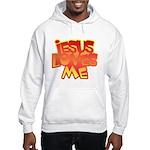 Jesus Loves Me Christian Hooded Sweatshirt