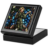Religion Square Keepsake Boxes