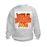 Jesus Loves Me Christian Kids Sweatshirt