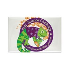 Cute Kids science challenge Rectangle Magnet