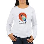 Irish Eyes are Smiling Women's Long Sleeve T-Shirt