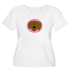 Pink Golden Retriever T-Shirt