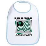 Irish American Bib