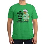 Getting Lucky with Your Mom Men's Fitted T-Shirt (