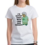 Getting Lucky with Your Mom Women's T-Shirt