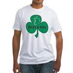 Ireland Shamrock Fitted T-Shirt