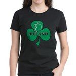 Ireland Shamrock Women's Dark T-Shirt