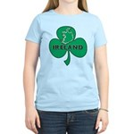 Ireland Shamrock Women's Light T-Shirt