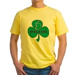 Ireland Shamrock Yellow T-Shirt