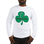 Ireland Shamrock Long Sleeve T-Shirt