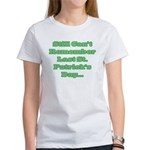 Can't Remember Last St. Patrick's Day... Women's T