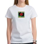 Kiss Me, I'm Irish! Women's T-Shirt