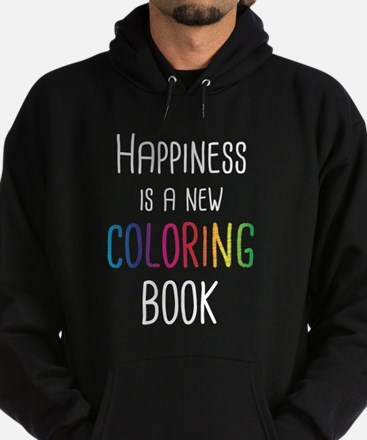 Happiness Is A New Coloring Book Sweatshirt