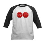 Stop in the Name of Love Kids Baseball Jersey