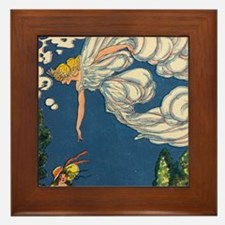 Fleecy Cloud Framed Tile