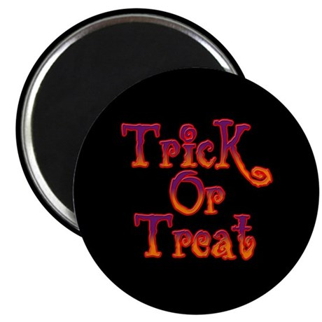 "Trick or Treat 2.25"" Magnet (100 pack)"